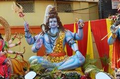 神印度shiva 免版税库存图片