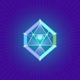 神圣的几何标志 图库摄影
