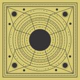 神圣的几何设计 向量例证