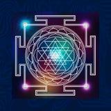 神圣的几何3 向量例证