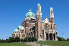 神圣的心脏的大教堂在布鲁塞尔 库存照片