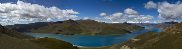 神圣的湖 图库摄影