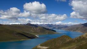 神圣的湖 免版税库存图片