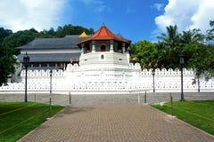 神圣的牙遗物的寺庙-康提 免版税图库摄影