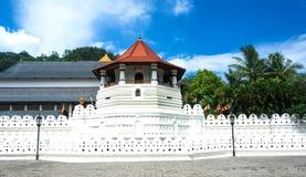 神圣的牙遗物的寺庙-康提 图库摄影