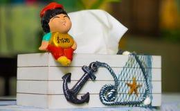 神圣的玩偶 免版税库存照片