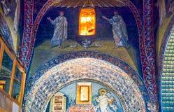神圣的艺术古老珍宝在拉韦纳 免版税库存图片