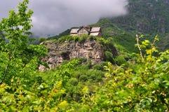 神圣的Akhtala修道院在亚美尼亚 免版税库存照片