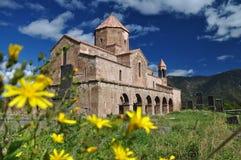 神圣的Odzun修道院在亚美尼亚 5第7个世纪 免版税库存照片