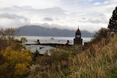 神圣的Sevan在亚美尼亚 免版税库存图片