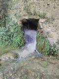 神奇瀑布阿特拉斯山脉 免版税图库摄影