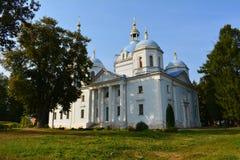神奇的图象的救主的大教堂在救主的修道院里在一个夏日 免版税图库摄影