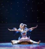 神奇的复活玩偶现代舞蹈 库存照片