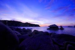 神奇的海滩 免版税图库摄影