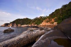 神奇的海滩 免版税库存照片