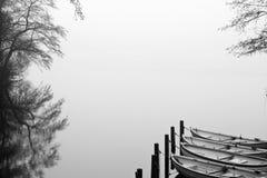 神奇的湖 库存图片