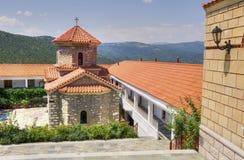 神奇的Panayia Malevi的修道院 免版税库存照片
