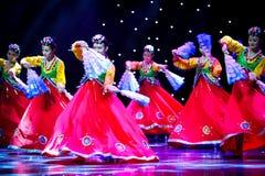神奇Jindal---韩国舞蹈 库存图片