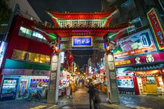 神户唐人街 免版税图库摄影