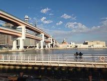神户桥梁 免版税图库摄影