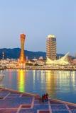 神户端口塔 库存图片