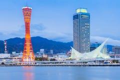 神户,日本港  免版税库存图片