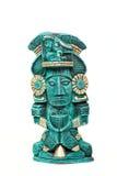 神查出的玛雅墨西哥雕象 库存照片