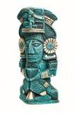 神查出的玛雅墨西哥雕象 免版税库存图片