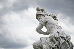 神毁损战争 免版税库存照片