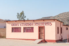 神王国教会在Nababeep 图库摄影