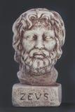 神的宙斯的面孔也叫God的白天天空 图库摄影