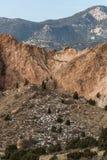神科罗拉多泉的庭院 免版税库存图片