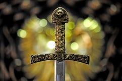 神秘的剑 免版税库存照片