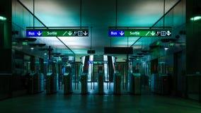 神秘的地铁 免版税库存照片