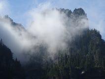 神秘的山 库存照片