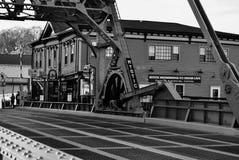 神秘的桥梁 库存照片