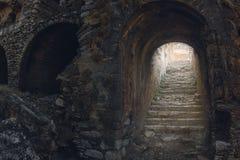 神秘的梯子 库存照片