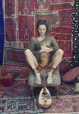 神秘的瑜伽 免版税库存照片