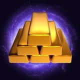 神秘的金牌 库存图片