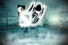 神秘主义者在医院 图库摄影