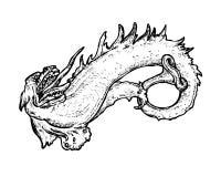 神话的生物 库存图片