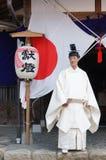 神道教徒 免版税库存照片