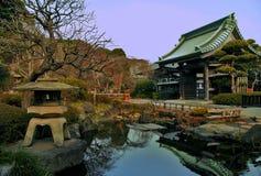 神道的信徒的寺庙 库存图片