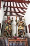 神雕象在光孝寺在广州 库存图片