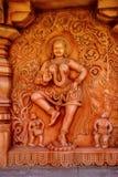 神雕象,雕塑博物馆, Kaneri算术,戈尔哈布尔,马哈拉施特拉 免版税图库摄影