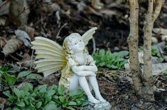 神仙在庭院里 免版税库存照片
