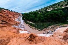 神仙的小河 库存照片