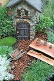 神仙的庭院 库存照片