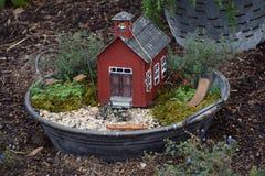 神仙的庭院 免版税库存照片