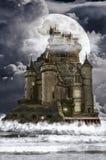 神仙的房子(岩石) 库存照片